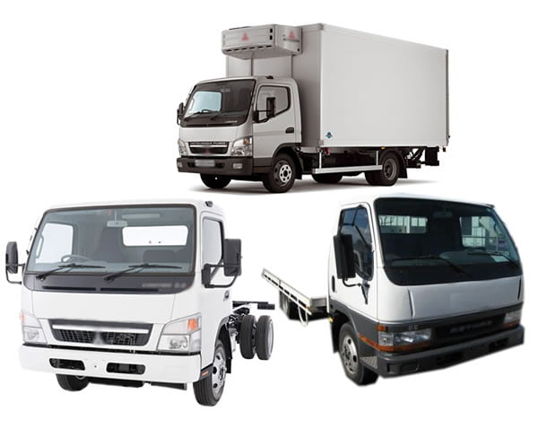 mitsubishi truck wreckers